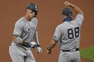 No debate: Judge, Yankees pound Bieber, Indians in opener