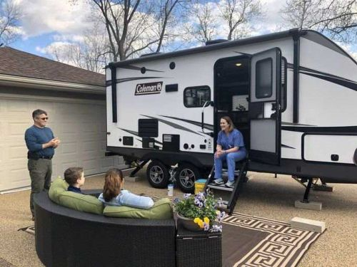 St. Louis area doctor buys camper to live in to protect family from coronavirus