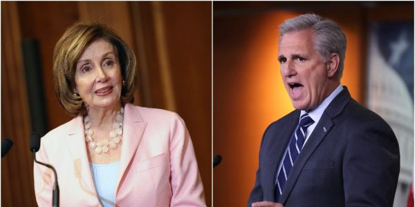 Pelosi said it was 'ridiculous' for McCarthy to recommend Jim Banks and Jim Jordan for the January 6 committee: 'There's no way'