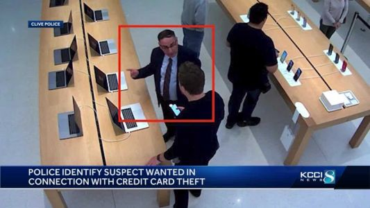 Clive police identify suspect wanted in nationwide credit card theft ring