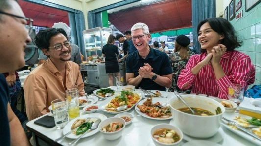 Tim Cook's Asian tour continues as he moves on to Thailand