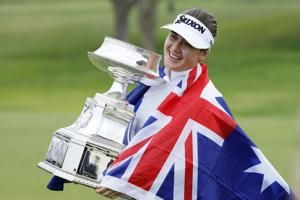 UPDATE 1-Golf-Aussie Green makes first LPGA win a major at Women's PGA