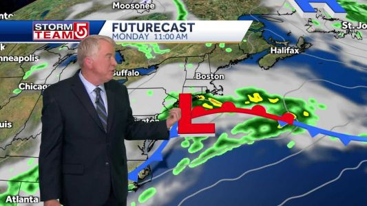 Video: Clouds increase; Mother's Day outlook