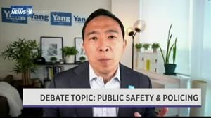 NYC candidates for mayor debate crime and economy