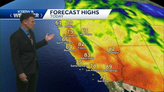 Seasonable Temperatures and Dry Conditions