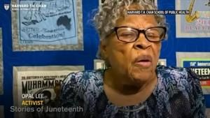 Juneteenth activist to young people: Keep fighting