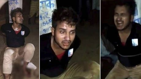 VIDEO of Indian mob lynching Muslim while forcing him to praise Hindu gods sparks national outrage