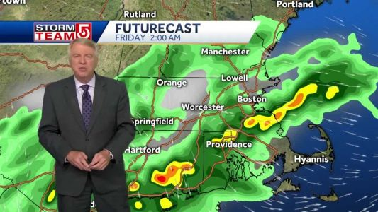 Video: More showers, storms possible overnight