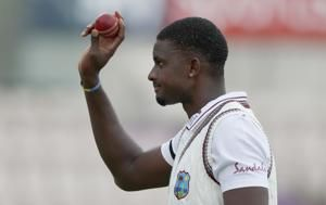 Holder wins early battle with Stokes as WIndies take control