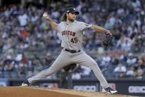 Cole pitches Astros past Yankees 4-1 for 2-1 lead in ALCS