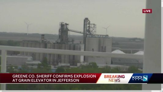 Developing: Explosion reported at Jefferson grain elevator