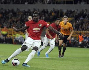 Pogba has penalty saved as Man United held 1-1 by Wolves