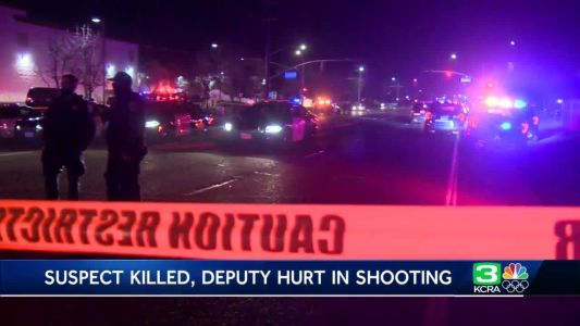'It was a chaotic scene': Shooting in Carmichael leaves suspect dead, officer hurt
