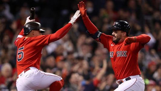 By the numbers: Red Sox continue offensive outburst in ALCS Game 3 rout of Astros