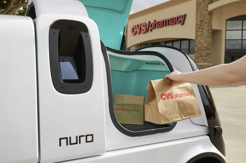 CVS Health tests self-driving vehicle prescription delivery