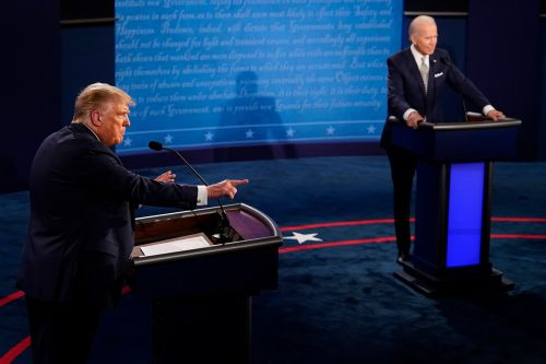 Trump missed a chance to let Biden stumble on his own in first debate