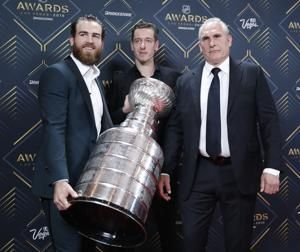 The Latest: Tampa Bay's Nikita Kucherov wins Hart Trophy