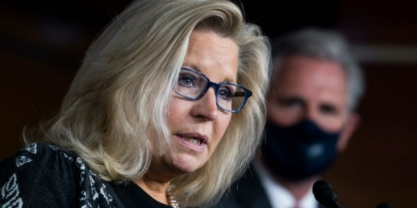 Rep. Liz Cheney says the Republican Party cannot progress if members keep 'embracing' Trump's baseless 2020 Election claims