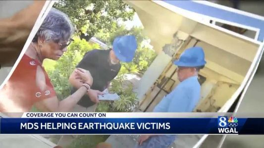 Mennonite Disaster Service volunteers travel to Puerto Rico to help earthquake victims