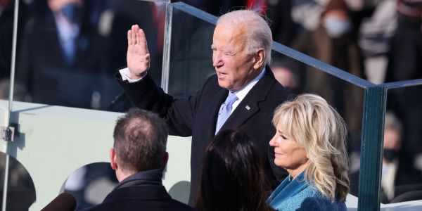 World leaders congratulate Biden after he's sworn in as the 46th president of the United States