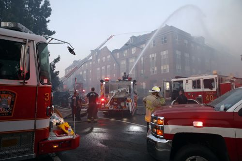 74-year-old man found alive after 5 days inside fire-gutted building