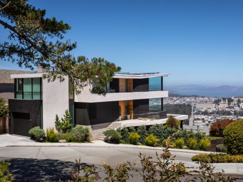 This San Francisco home is the highest residential point in the city, and it's selling for $22 million - take a look inside