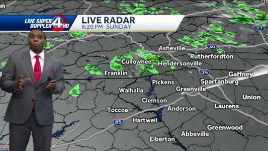 Videocast: Pop-up Showers Monday
