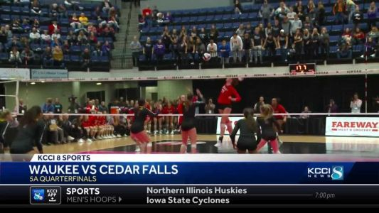 Moving on! Highlights and scores from Day One at State Volleyball