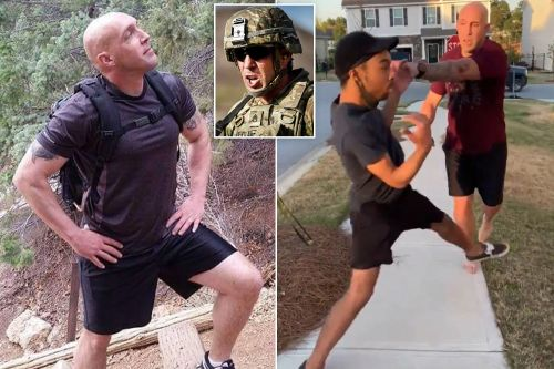 Who is Jonathan Pentland? Army sergeant charged with shoving a black man