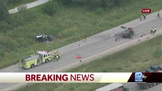 I-94 west closed in Waukesha County after serious crash