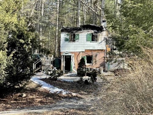 Cumberland County home gutted by fire Saturday night