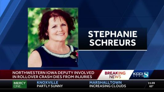 Services set for Iowa deputy who died after on-duty crash