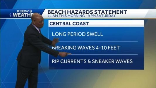Mild to Warm Local Temps - Surf and Winds Pick Up