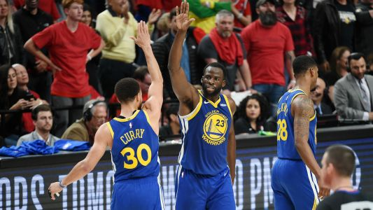 NBA playoffs 2019: Warriors become second team ever to reach five straight finals
