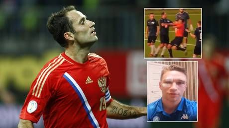 'He could be an MMA fighter': Teammate suggests ex-Russia captain's attack on amateur referee was result of 'tough upbringing'