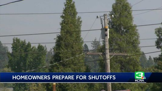 Grass Valley residents prepare for possible power shutoffs