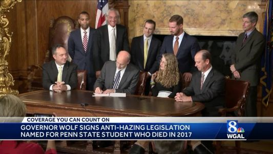 Governor signs anti-hazing bill into law