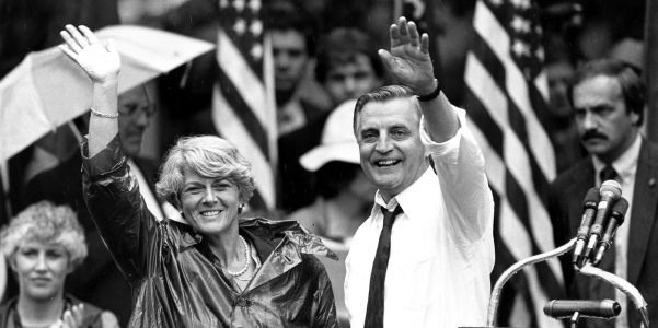 Walter Mondale made history by choosing Geraldine Ferraro as first female running mate on a major party ticket