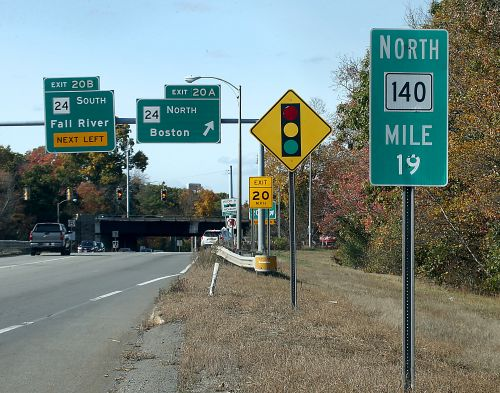 Signs signal confusion as highway exits are given new numbers