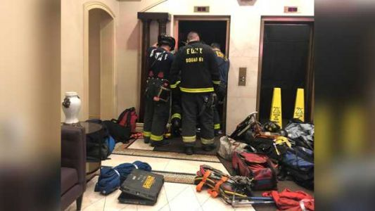 Reports: Man crushed to death when apartment elevator suddenly drops