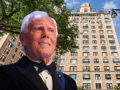 Giorgio Armani just dropped $17.5 million on a Manhattan penthouse that has stained glass windows and looks like a church - here's a look inside