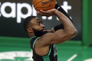 Brown scores 33, leads Celtics to 141-103 win over Cavs