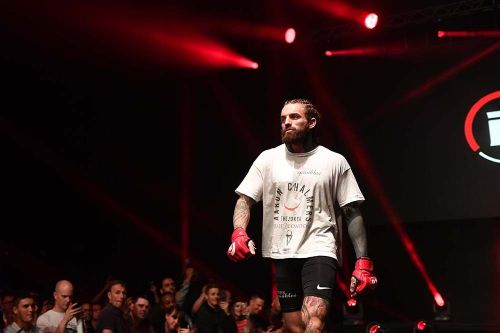 Aaron Chalmers on callout of Jake Hager: 'If I catch him, I can knock him out'