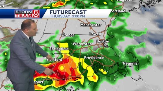 Severe thunderstorms could strike Boston area early Friday morning