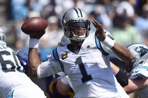 Panthers QB Newton ruled out for Sunday's game vs Arizona