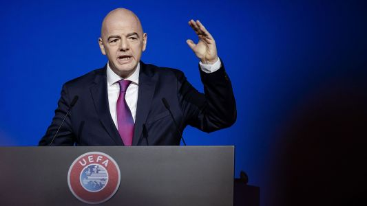 'You cannot be half in or half out': FIFA president warns Super League clubs of 'consequences'