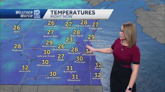 Videocast: Passing light snow showers Sunday