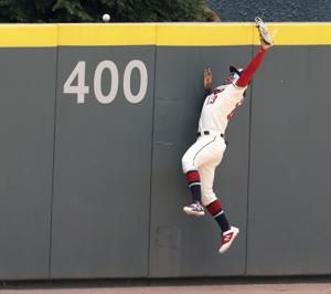 Braves star Acuña pulled after failing to run out long drive