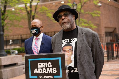 Eric Adams endorsed by dad of NYPD shooting victim Sean Bell