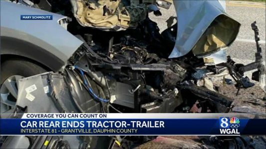 Crash on I-81 in Dauphin County sends one person to the hospital